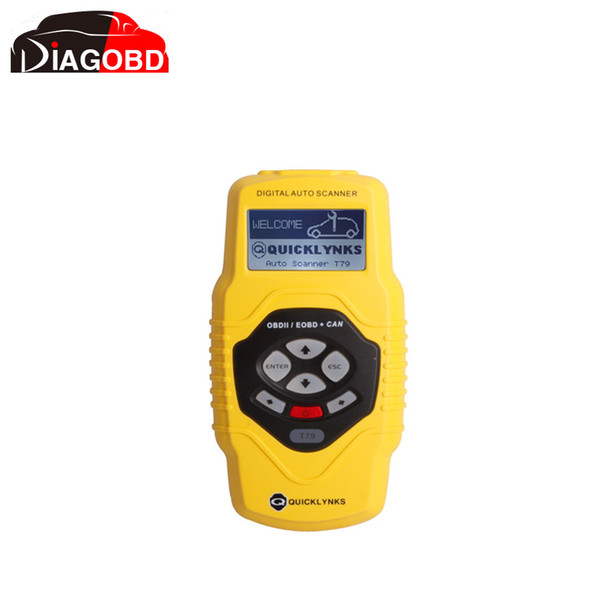 Großhandels-Highend Diagnose-Scan-Tool OBDII Auto Scanner T79 (gelb mehrsprachig aktualisierbar)