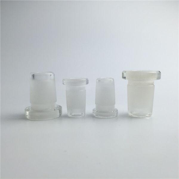 10mm weiblich zu 14mm männlich glasadapter konverter dickforsted mund pyrexglas wasserrohre mini bong adapter für rauchen
