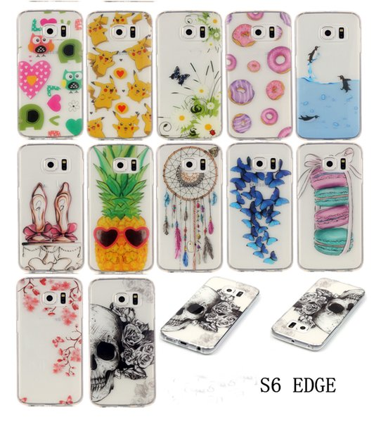 Colorful Painted TPU Soft Plastic Cell Phone Cases Cheap Cartoon Smartphone Cover for Samsung Galaxy J5