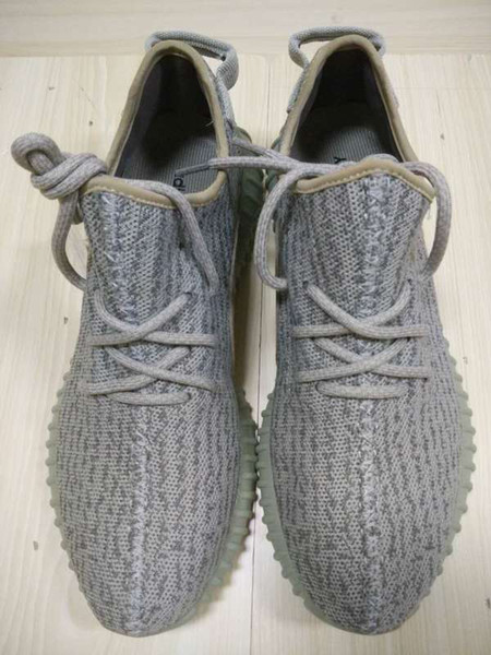 2019 Kanye West Shoes Boost 350 Moon Rock Shoes Pirate Black Classic Grey 350 Boost Men & Women Size 9 Footwear With Original Shoes Box From