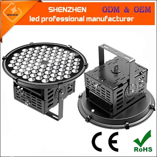 250w 120lm/w led projection floodlight high quality pole lamp high power led industrial flood spot light