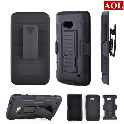 Future Armor Shockproof For Nokia Microsoft Lumia 640 PC+Silicone Phone Case Rugged Impact With Kickstand Belt Clip Back Cover