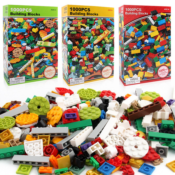 best selling 1000 Pcs Building Bricks Set DIY Creative Brick Kids Toy Educational Building Blocks Bulk Compatible With Brand Blocks