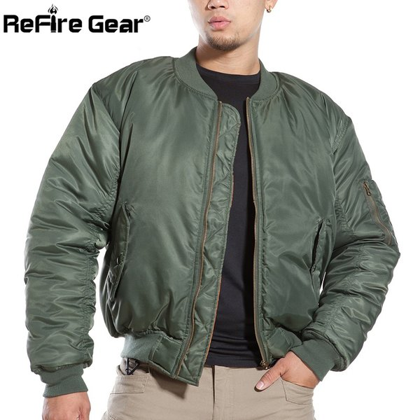 Air Force Fly Pilot Jacket Military Airborne Flight Tactical Bomber Jacket Men Winter Warm Aviator Motorcycle Down Coat