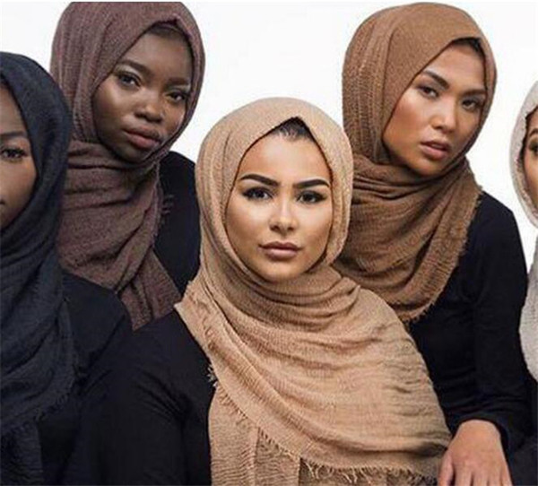 120pcs multicolor fashion cheapest scarves 95*180CM Long Female Scarves 41 colors cotton linen scarf jersey shawl muslim hijab R058