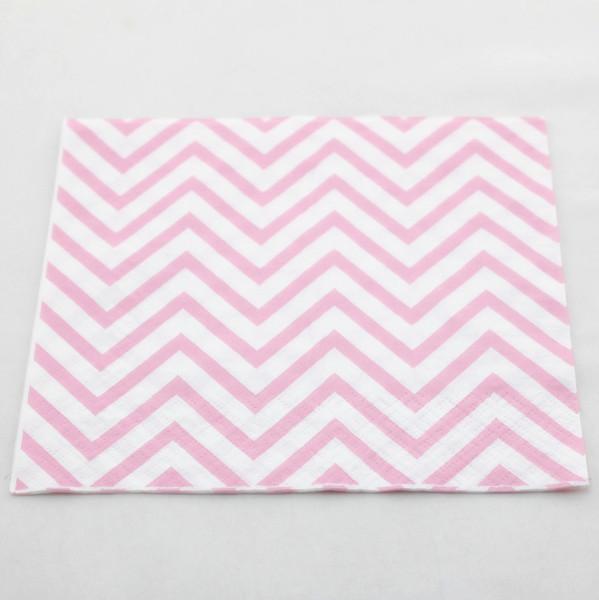 Ücretsiz kargo!!! 400 adet Düğün dekorasyon için kağıt peçete bebek pembe tek kullanımlık kağıt peçete Bebek duş / Noel