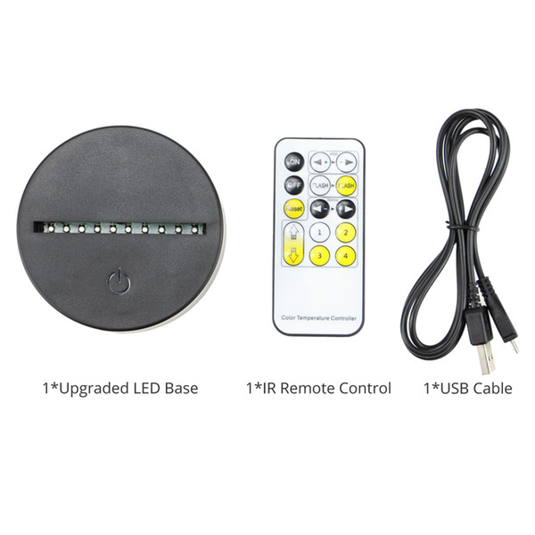 With IR Remote Control