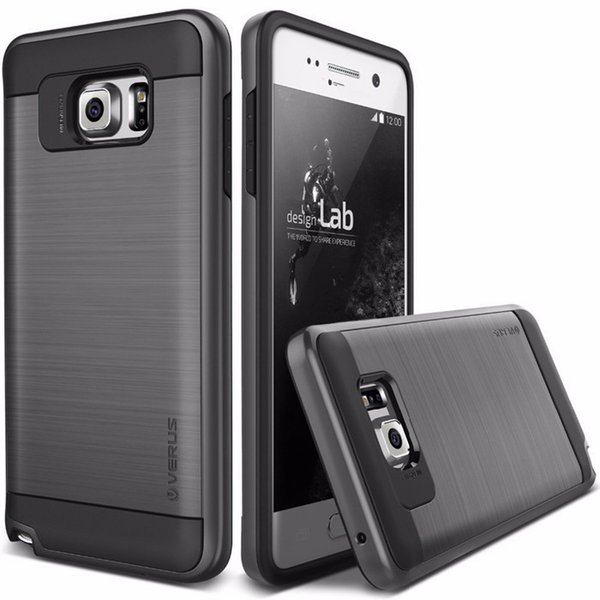 V erus per iPhone X 8 7 Galaxy S8 Note 8 Armor Caso spazzolato Rugged Dual Layered Anti-Shock Custodia rigida antiurto per Galaxy S7 Edge J7 2017