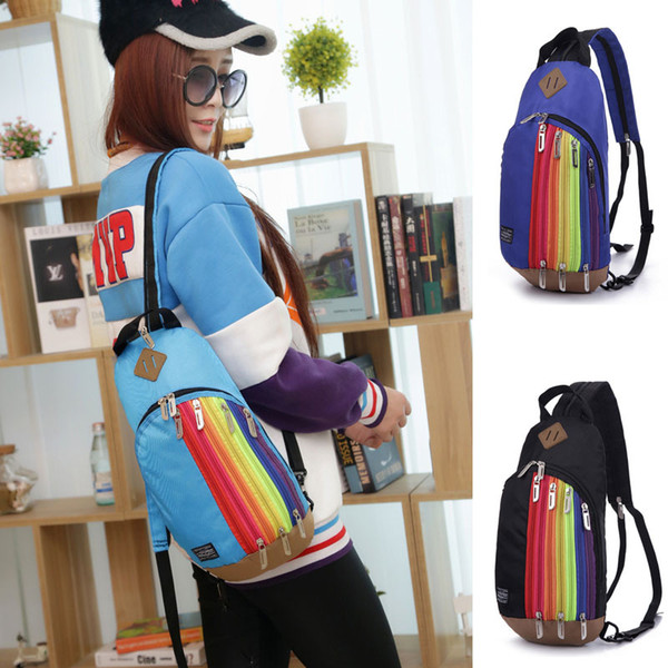 2a1b479dbcb New Fashion Arcuate Shouider Strap Zipper Solid Casual Bag Male Backpack  School Bag Canvas Bag Designer Backpacks For Men In Wholesale, Personalized  ...
