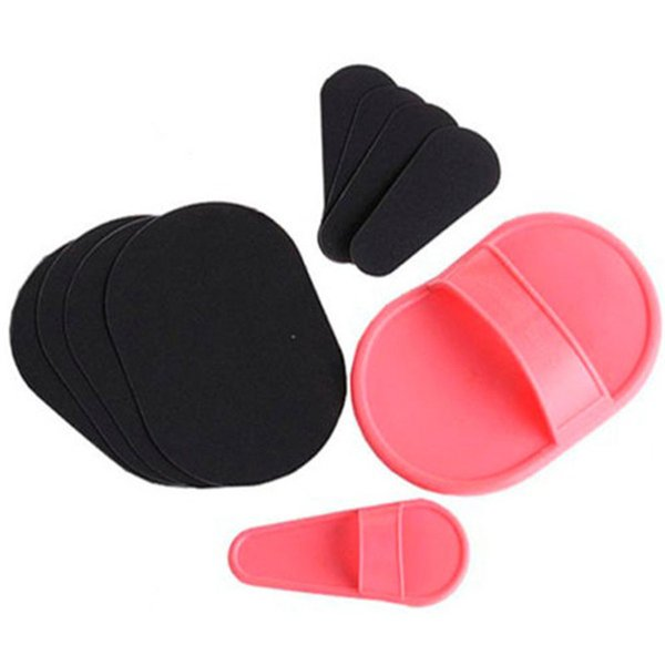 Wholesale Natural Hair Remover Face Body Hair Removal Tools Smooth Legs Skin Exfoliator Pad Mini Hair Remover Free Shipping
