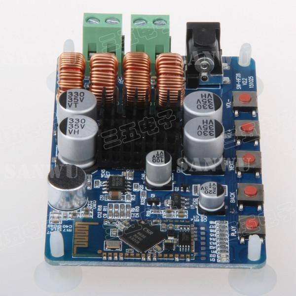Atacado-Novo TPA3116 Bluetooth 4.0 Receptor de Placa de Alimentação Estéreo 2X50W