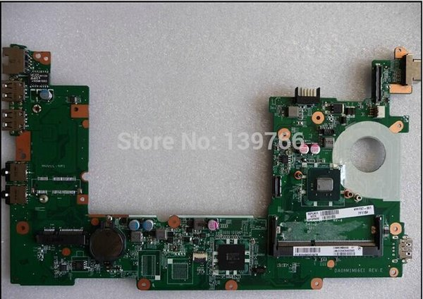 top popular 650739-001 motherboard for HP mini 110 mini 110-3000 mini 210 210-3000 motherboard with Intel Atom N570 CPU 2021