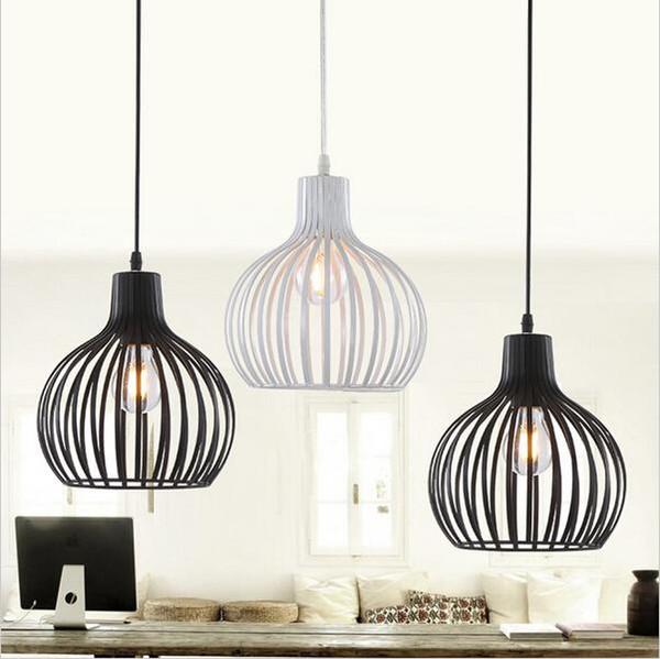 2016 Promotion Lamparas Retro Pendant Lights E27 Industrial Edison Lamps Loft American Style Living Light Fixtures Kitchen Lamp