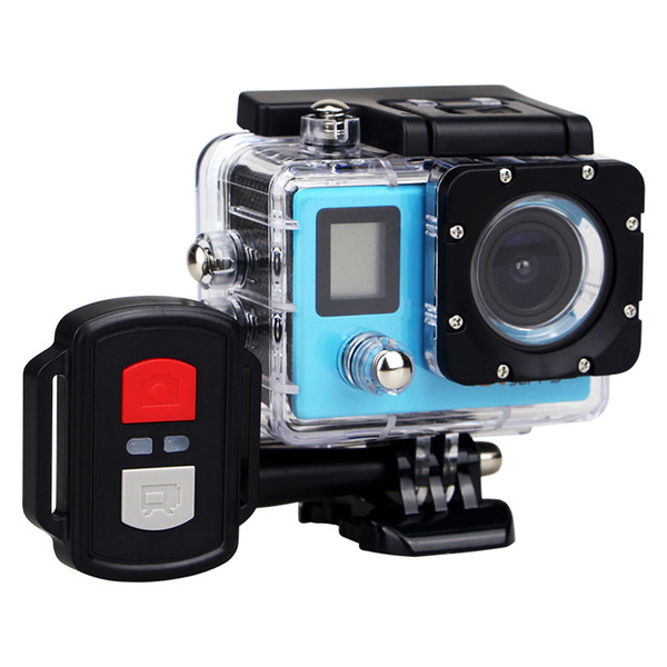 best selling Best selling go style H22R 4K Wifi Action Camera 2.0 Inch 170D Lens Dual Screen Waterproof Extreme Sports Camera pro HD DVR Camera