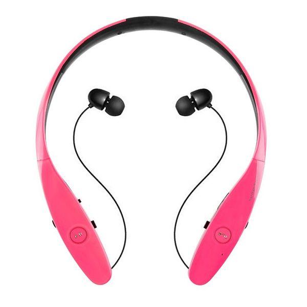 Auricolari Bluetooth HBS 900 Tone + Infinim Neckbands Auricolari stereo wireless Bluetooth 4.0 Cuffie sportive per cuffie HBS900 Hard BOX