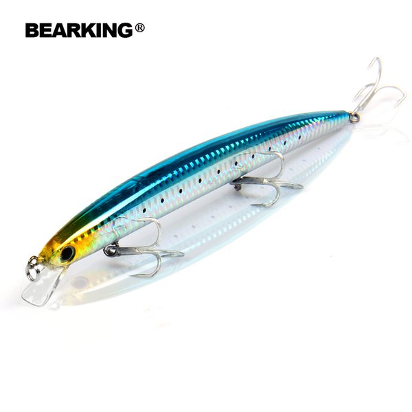 Bearking 180Mm 26G 5Pcs/Lot 2017 Good Fishing Lures Minnow Quality Professional Minnow Color Send Randomly Hard Baits