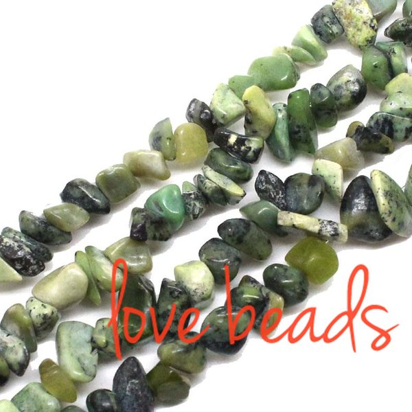 wholesale Arrival!5-8mm Freeform Natural African Turquoise Gravel Loose Beads Strand 80CM For Woman wholesale (F00352) wholesale