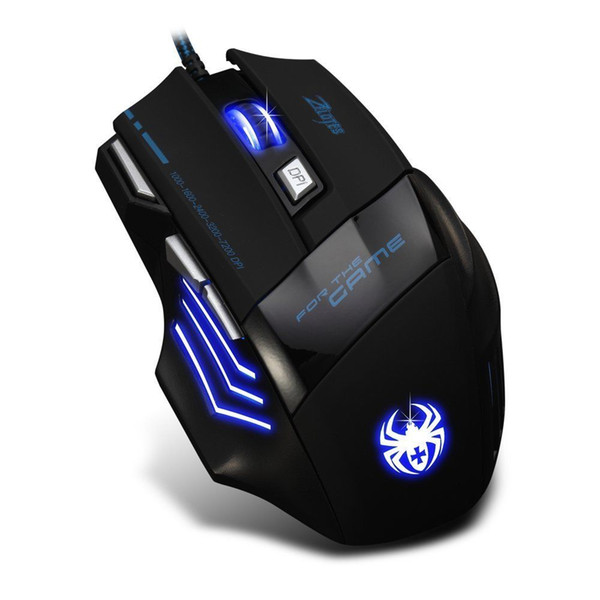 High Quality New Zelotes Optical Mouse 7200 DPI USB Wired Gaming Mice For Computer PC Laptop