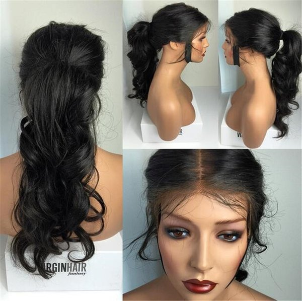 Body Wave brazilian human hair lace front\full lace human hair wigs for black women top quality free shipping