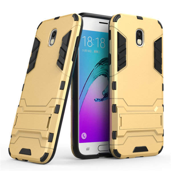 Iron Man Cover for Samsung Galaxy J3 J5 J7 2017 USA &European Asian Prime Hybrid Shock Proof Hard Armour Heavy Rubber CASE