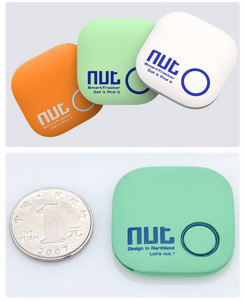 top popular Free DHL Nut 2 Smart Tag Bluetooth Activity Tracker Key Wallet Finder Alarm GPS Locator Tracker For Kids Pet Anti-lost 2020