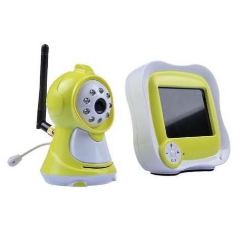 2.4Ghz Wireless Wifi Video Baby Monitor 3.5'' Digital Camera 2 Way Audio