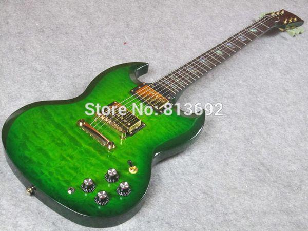Электрогитара, двухместный вырезать путь, элегантный, высокое качество гитара, DW16