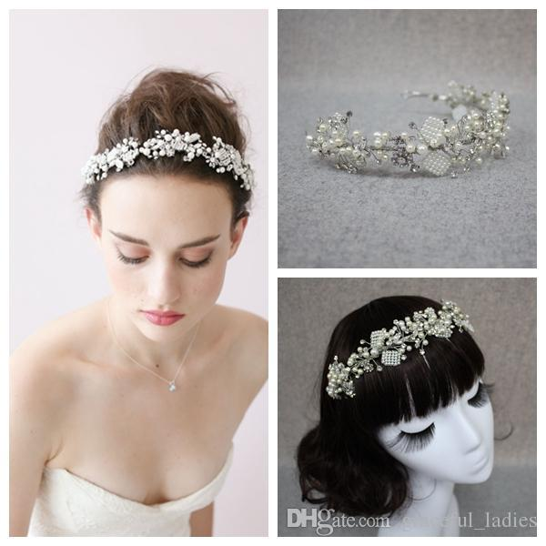 New Fastness Crystal Bridal Headpiece Tiaras Hair Accessories Rhinestone Tiaras For Wedding Jewelry Bridal Hair Clasp Headpiece For Brides