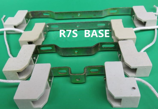 керамики базы R7s лампа основание R7s J78 j118 из J135 J189 держатель светильника пробки света пробки базы R7s 78 мм 118 мм 135 мм 189 мм