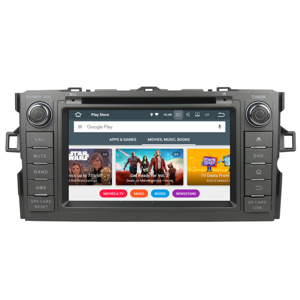 """7"""" 2G RAM Android 7.1 Car DVD Radio For Toyota Auris Corolla Hatchback Double Din GPS Receiver SWC OBD DVR BT WIFI 4G Quad Core Touch Screen"""