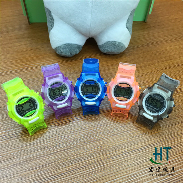 Colorful Baby Jelly Watch Rubber Silicon Candy Jelly Fashion Boy Girl  Silicone Watches free shipping E787 621fbf7fe989