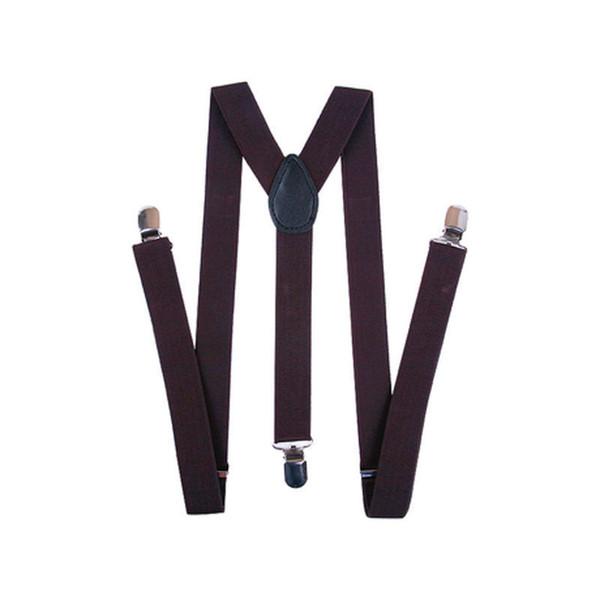 Mens Unisex Clip-on Braces Elastic White//B Lace Suspender Y-shape Ajustable