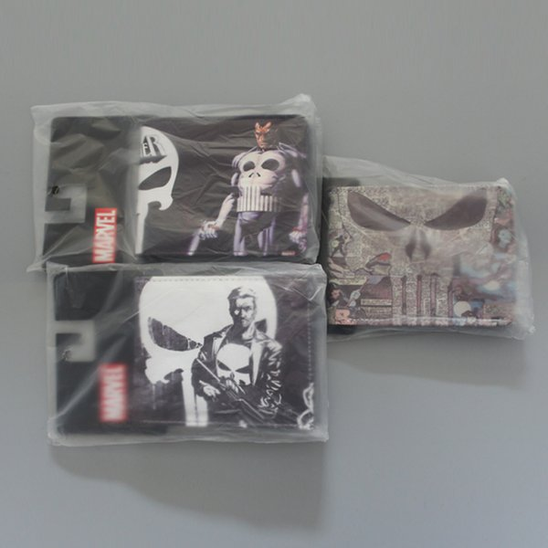 MARVEL COMICS THE PUNISHER ARMED BIFOLD WALLET WITH ID HOLDER