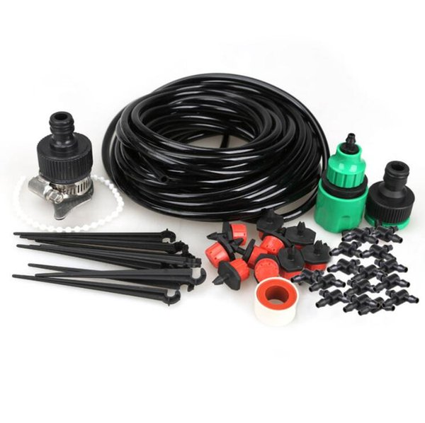 top popular Free shipping high quality 10m DIY Micro Drip Irrigation System Plant Self Watering Garden Hose Wholesale 2019