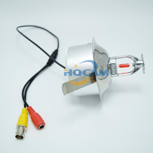 "Mini 1/3"" Sony CCD 420TVL Security CCTV mini Camera Spray camera Fire Sprinkler Color Pinhole Covert Camera 3.7mm Lens"