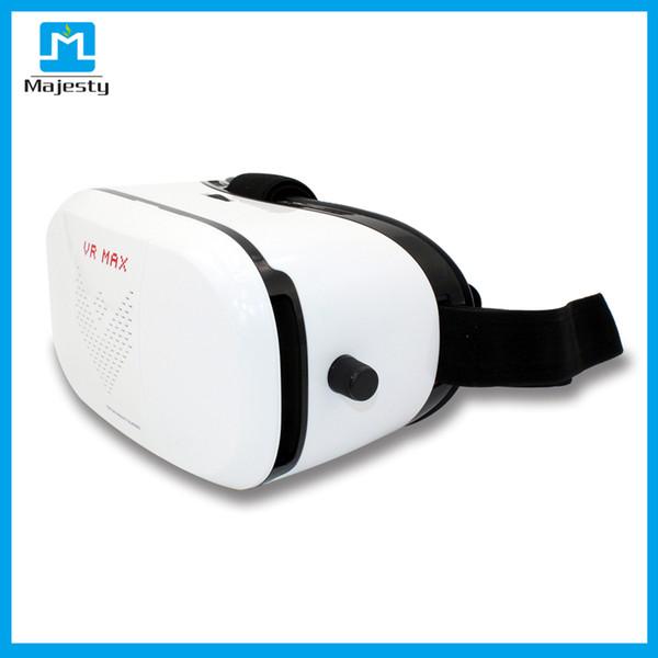 VR Max Karton Plastik Sanal Gerçeklik VR Gözlük 3D 3-6 inç Akıllı Telefonlar için Kask Telefon Gözlük DHL ÜCRETSIZ