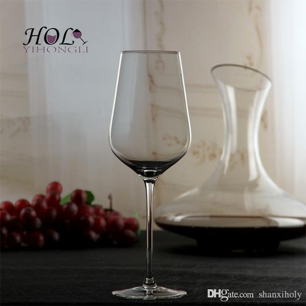 Lead-free crystal wine cup long stem red wine glass
