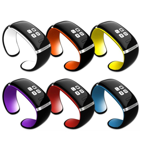 Smart Wristband L12S OLED Bluetooth Bracelet Wrist Watch Design For IOS Android Phones Wearable Electronic Bracelet