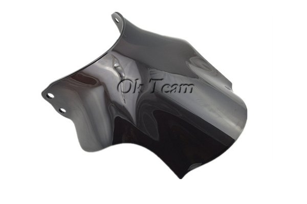 Parabrezza parabrezza bicomponente a moto libero per CB400 Super Four CB 400 SF Black Windscreen