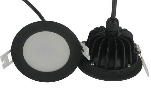Factory Hot sale Dimmable 12W waterproof IP65 led downlights recessed led lamp led ceiling light with led driver size 90mm*45mm AC85-265V