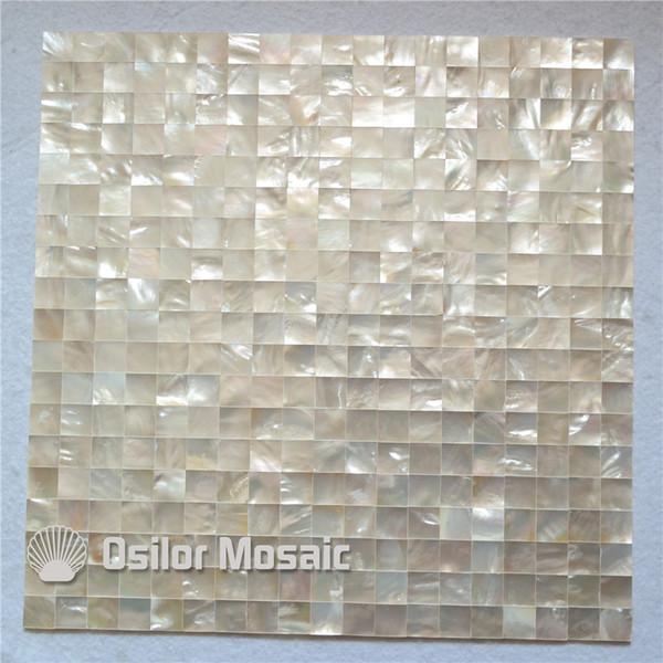 Whitelip Sea Shell Nahtlose Perlmutt Mosaik Fliesen Für Innenhaus Dekoration  Küche Und Badezimmer Wandfliesen Nahtlose Shell