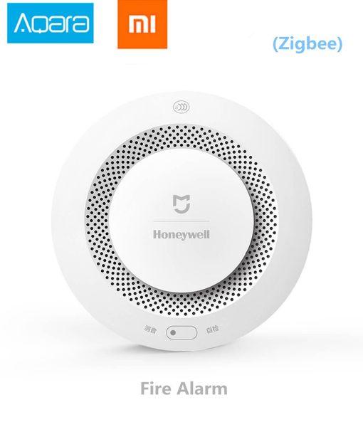 Wholesale Xiaomi Mijia Honeywell Fire Alarm Detector, Aqara Zigbee Remote  Control Audible And Visual Alarm Notication Work With Mihome APP Best Smart