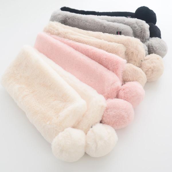 Neue Herbst Wniter Baby Boy Mädchen Schals Kinder Kinder Kleinkind Baumwolle Plüsch Schal Erstaunlich