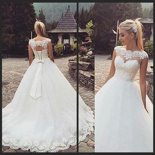 Discount 2017 Vintage Wedding Dresses Beautiful New Model Lace ...