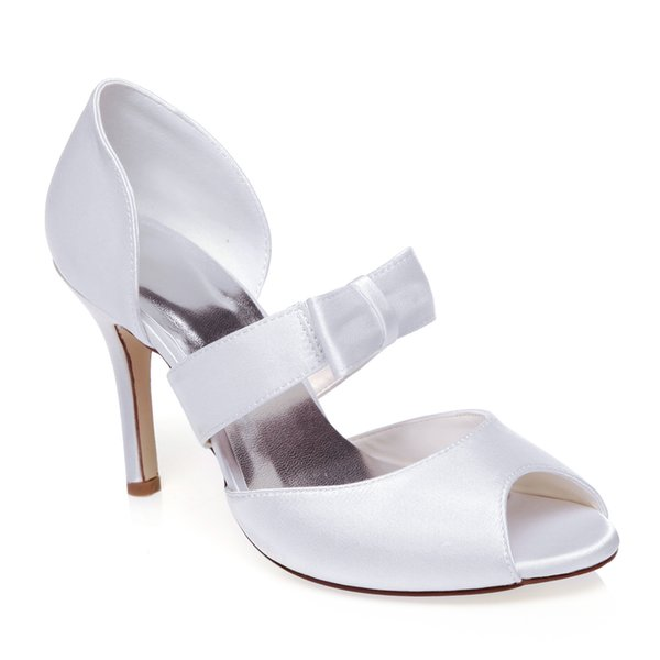 New Style WR-516-11 Dyeable Ivory Color Sandal Bridal Shoes Wedding Dress Shoes Handmade Shoes Evening Shoes Prom Party Shoes Euro Size35-42