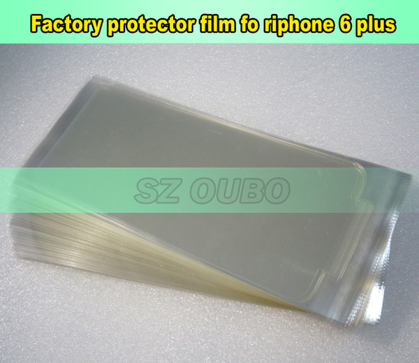 For iphone 6 plus front screen protector refurbishment film, LCD front screen protecting film for repair lcd DHL free shipping