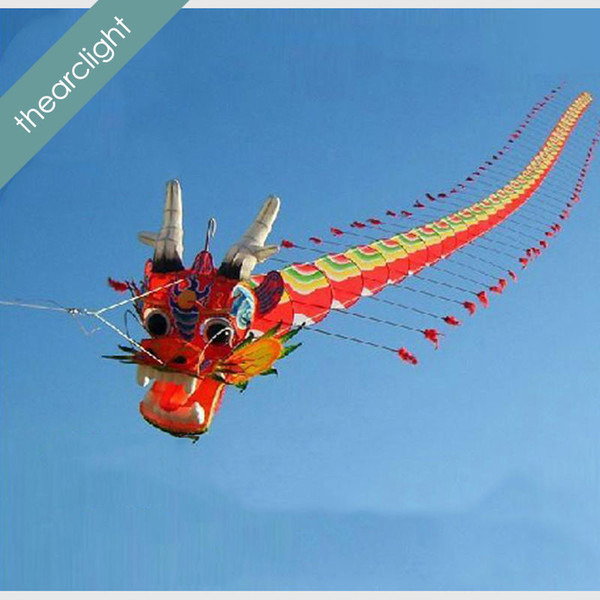 top popular free shipping high quality 7M Chinses traditional dragon kite Chinese kite 2021