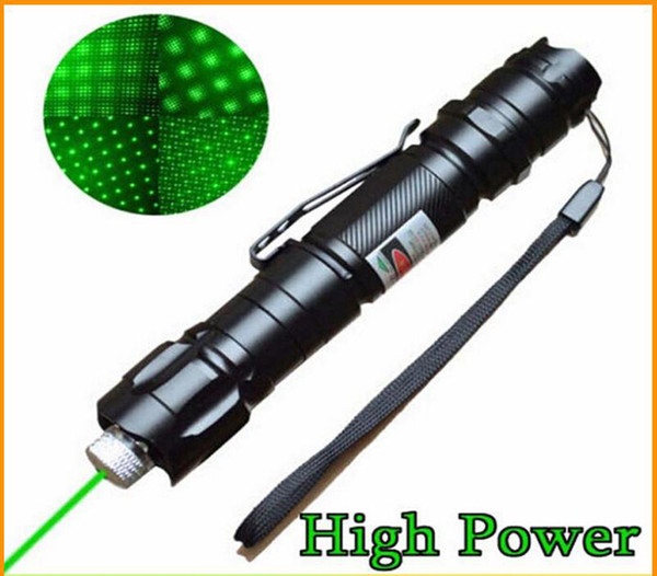 Brand New 1mw 532nm 8000M High Power Green Laser Pointer Light Pen Lazer Beam Military Green Lasers Free Shipping