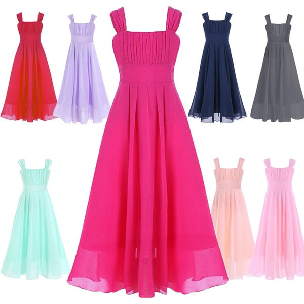 2018 Cute Girls Formal Dresses For Christmas Party Baby Girls ...