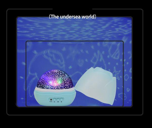 Le monde sous-marin